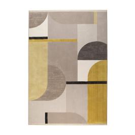 Kleurrijk vloerkleed met vormen