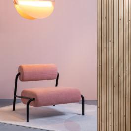 Retro fauteuil Memphis-stijl