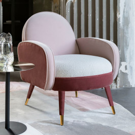 Lounge fauteuil retro