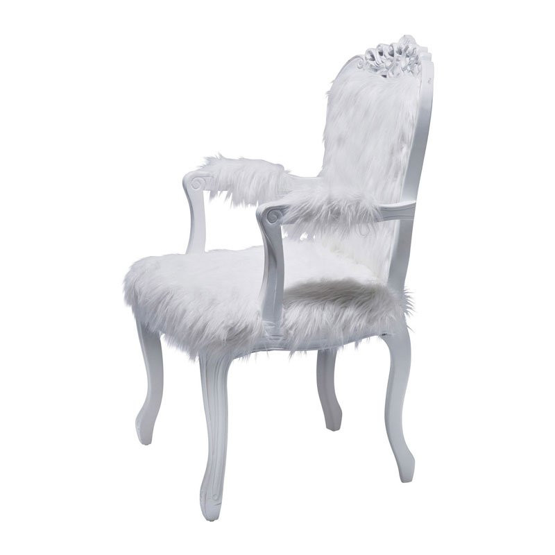 Barok Fauteuil Wit.Barok Fauteuil Wit Romantico Fur Onlinedesignmeubel Be