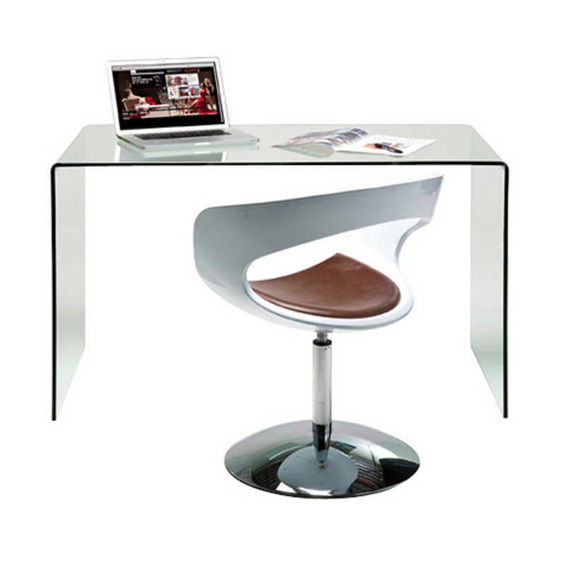 bureau glas design club bestellen. Black Bedroom Furniture Sets. Home Design Ideas