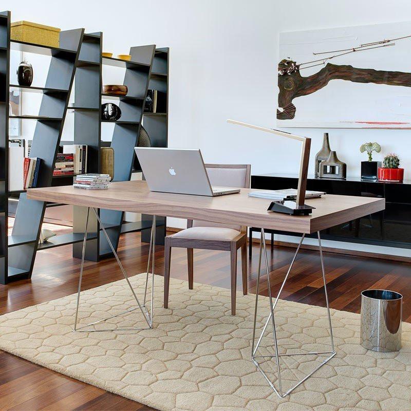 design bureau tundo vitor walnoot bestellen. Black Bedroom Furniture Sets. Home Design Ideas