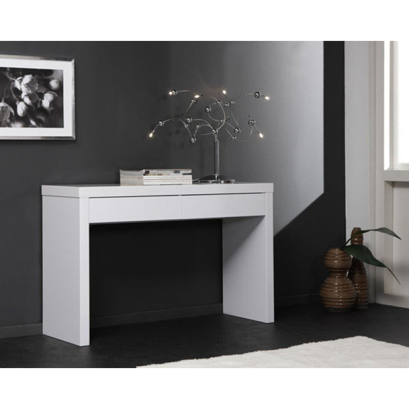 Moderne Witte Kaptafel.Kaptafel Hoogglans Giani Fiore Onlinedesignmeubel Be