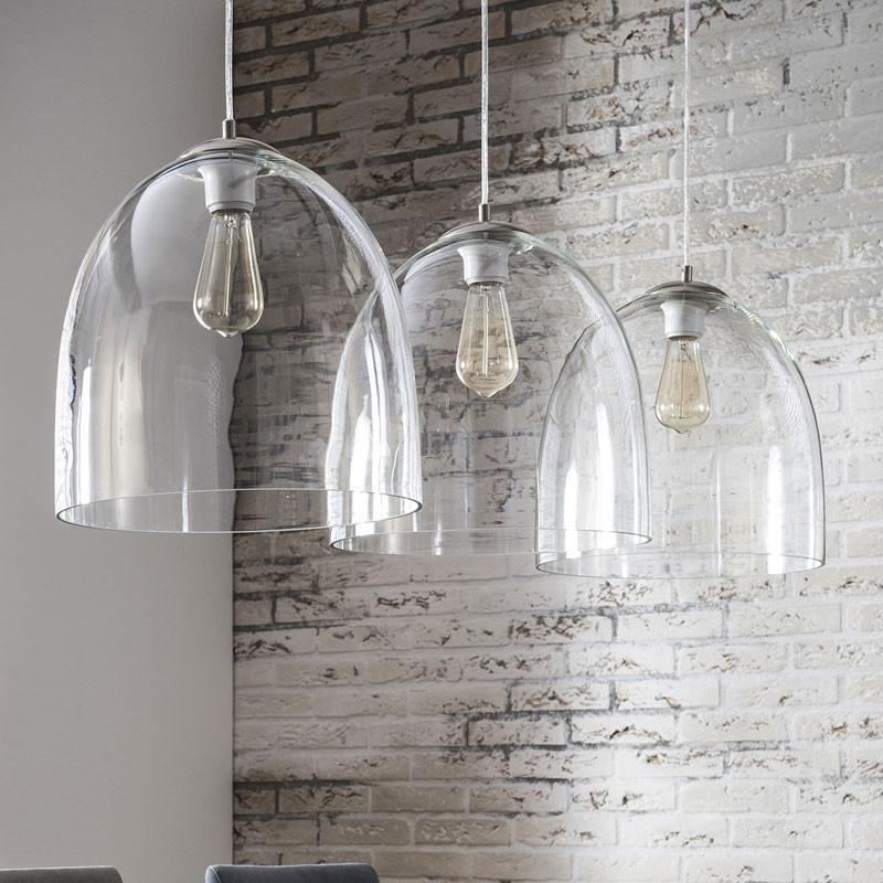 hanglamp glas 3l santa emet. Black Bedroom Furniture Sets. Home Design Ideas