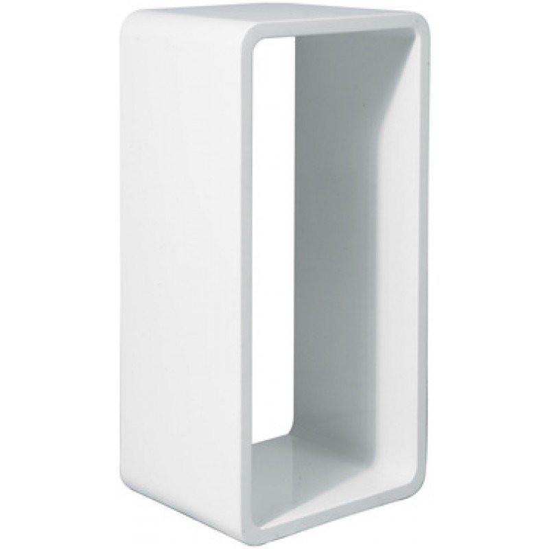wandrek cube wit xl bestellen. Black Bedroom Furniture Sets. Home Design Ideas