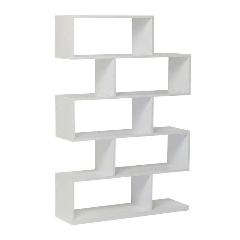 hoogglans witte open kast