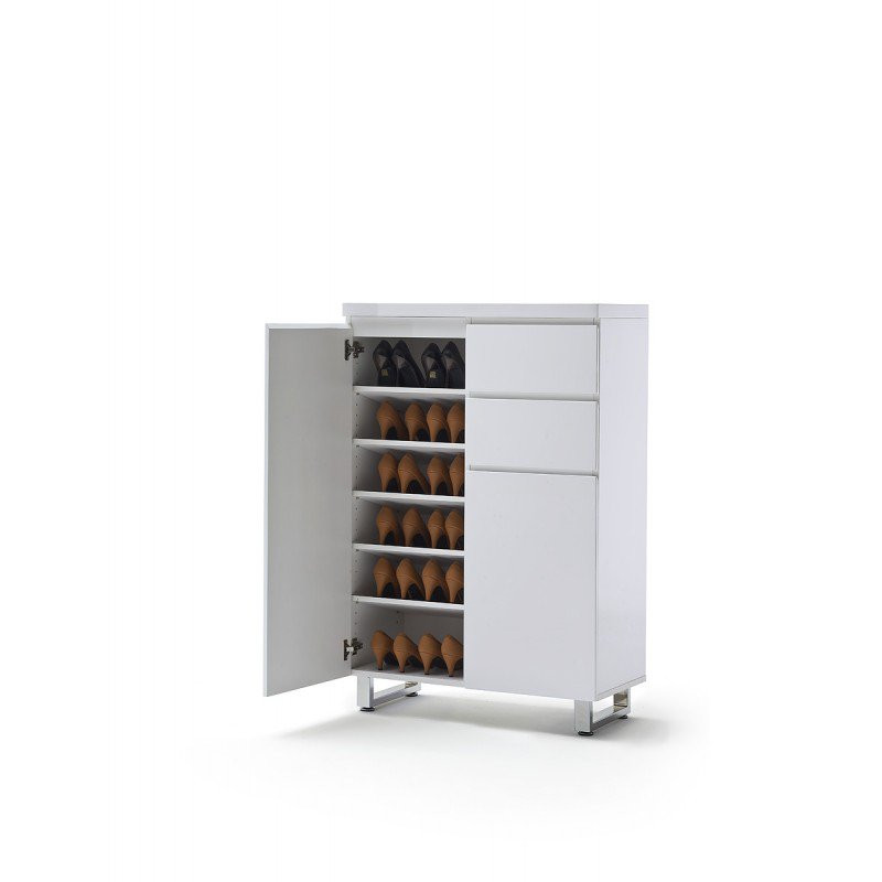 Schoenenkast wit sydney 125d kopen for Schuhkipper design