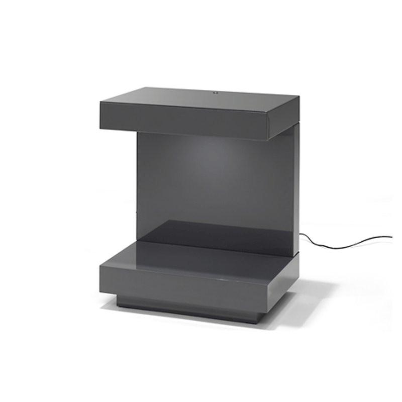 nachtkastje led verlicht en met lade onlinedesignmeubel
