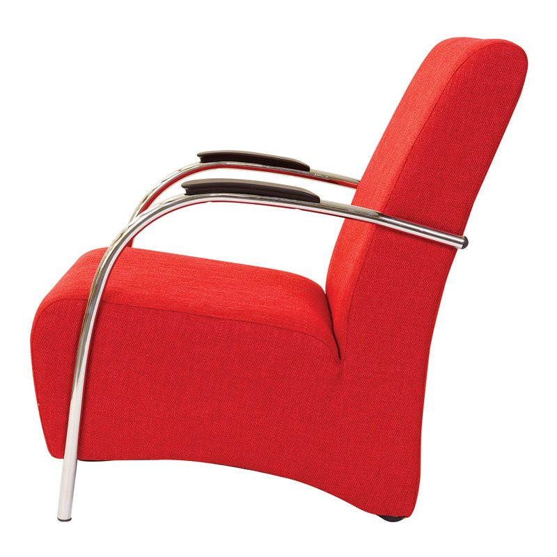 Rode fauteuil modern Ostera bestellen