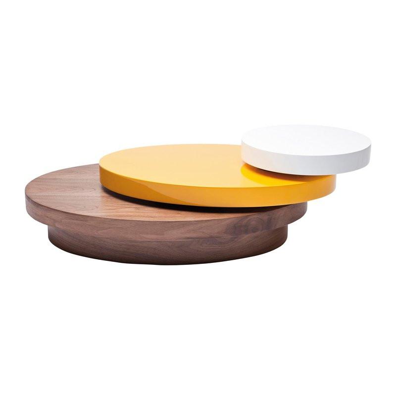 Ovale Design Salontafel Horizon 90