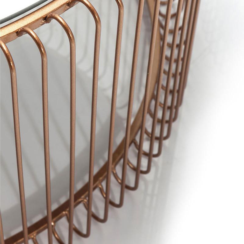 Tafelset koper kare design wire copper for Koper design
