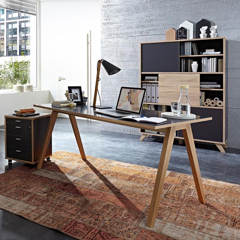 Massief Houten Bureau.Germania Helsinki Modern Bureau Massief Essen 4173 247 Lumz