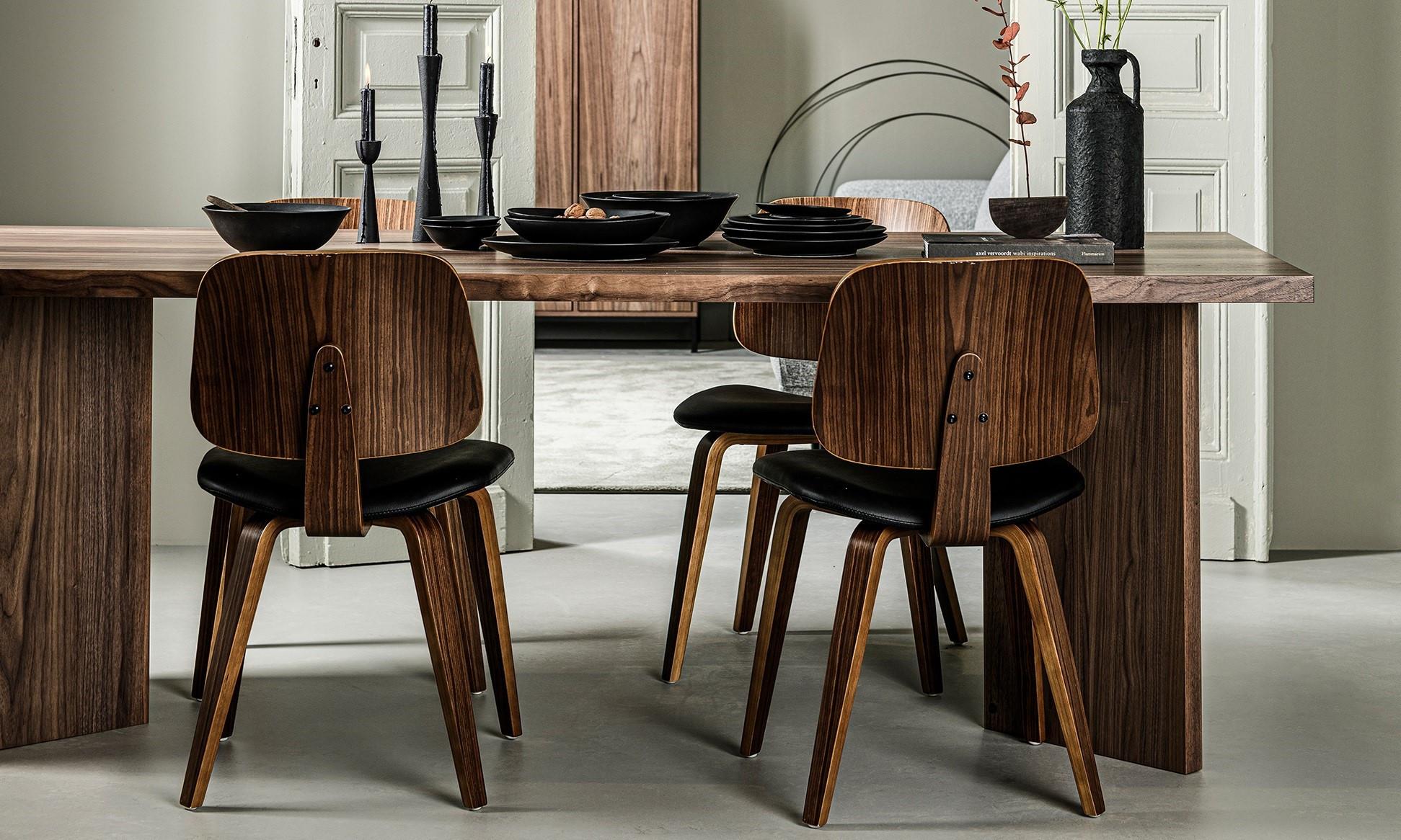 Zo kies je de juiste stoel bij jouw eettafel